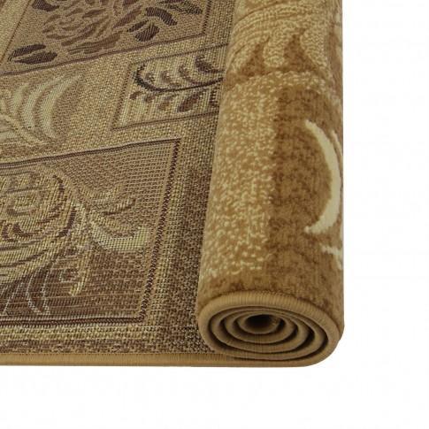 Covor living / dormitor Carpeta Berber 45891-20222 polipropilena BCF dreptunghiular crem 140 x 200 cm