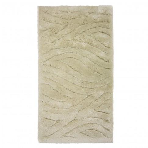 Covor living / dormitor Oriental Weavers Snow Shaggy W 623/Y20 polipropilena BCF dreptunghiular alb 133 x 190 cm