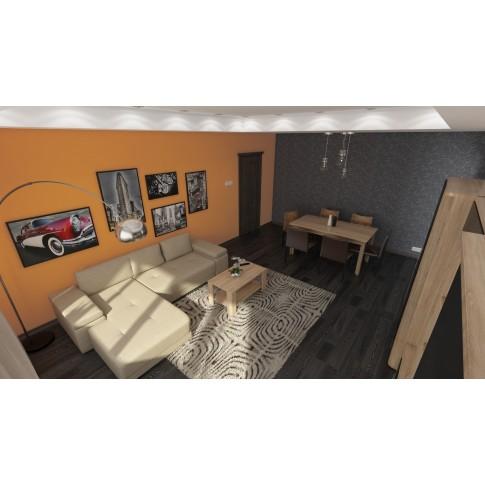 Covor living / dormitor Sintelon Mondo 48WQW polipropilena frize dreptunghiular gri 160 x 230 cm