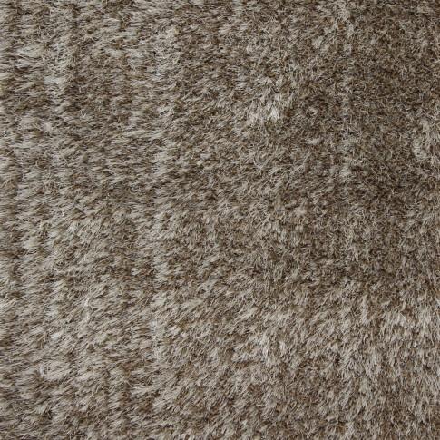 Covor living / dormitor Sintelon Pleasure 01BWB polipropilena frize dreptunghiular maro 80 x 150 cm