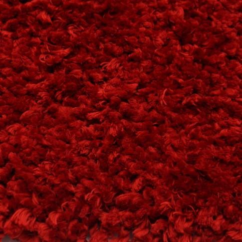 Covor living / dormitor Chip microfibra 15 poliester dreptunghiular rosu 140 x 200 cm