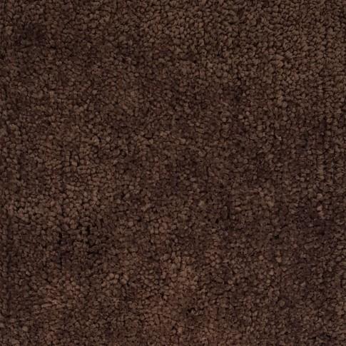 Covor living / dormitor Chip microfibra 01 poliester dreptunghiular maro 80 x 150 cm