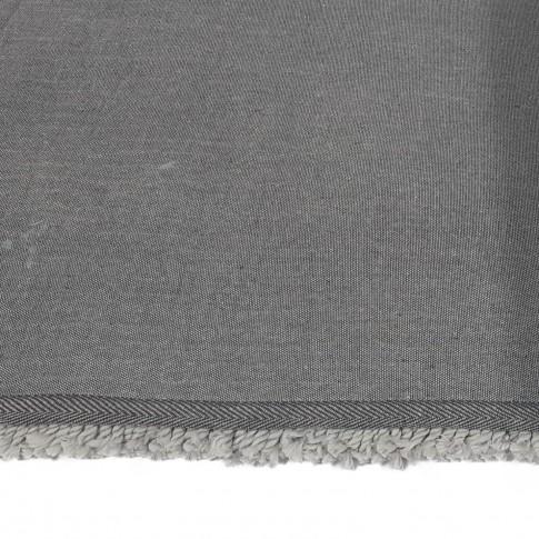 Covor living / dormitor Chip microfibra 06 poliester dreptunghiular gri 80 x 150 cm