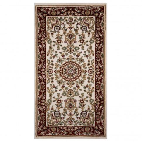 Covor living / dormitor Carpeta Atlas 82271-41333 polipropilena heat-set dreptunghiular crem 80 x 150 cm