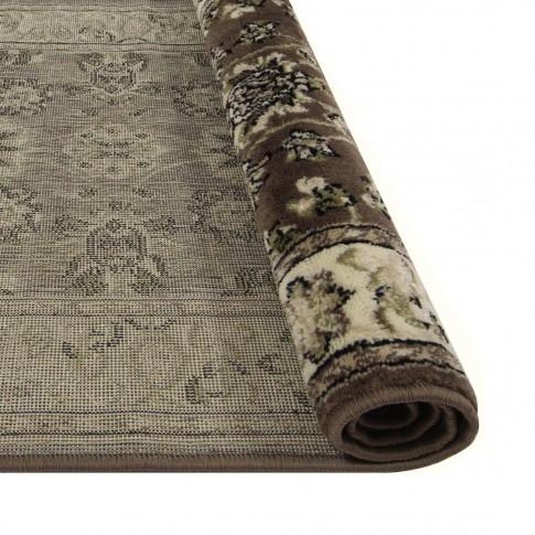 Covor living / dormitor Oriental Weavers Ferrera N 1732/EC9 polipropilena dreptunghiular maro 120 x 170 cm