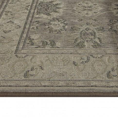 Covor living / dormitor Oriental Weavers Ferrera N 1732/EC9 polipropilena dreptunghiular maro 160 x 235 cm