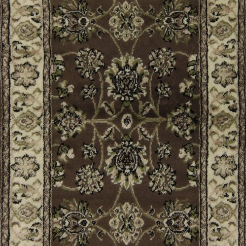 Covor living / dormitor Oriental Weavers Ferrera N 1732/EC9 polipropilena dreptunghiular maro 200 x 285 cm