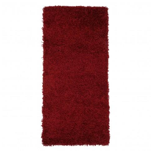 Covor living / dormitor Carpeta Viva 10391-33300 polipropilena dreptunghiular bordo 70 x 140 cm