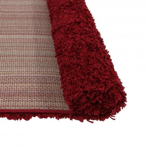 Covor living / dormitor Carpeta Viva 10391-33300 polipropilena dreptunghiular bordo 90 x 250 cm