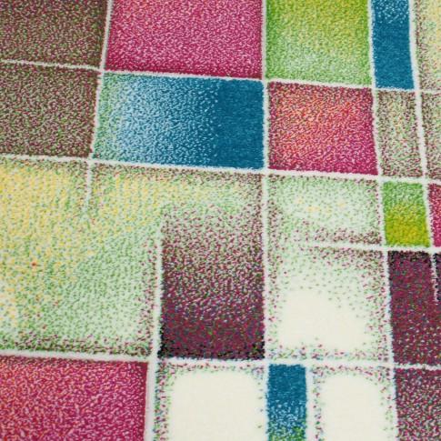Covor living / dormitor Sintelon Vegas Pop 43 RVR polipropilena frize, heat-set dreptunghiular multicolor 160 x 230 cm