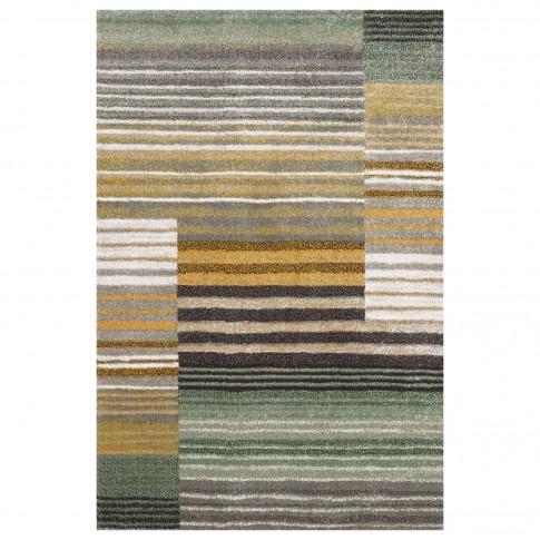 Covor living / dormitor Sintelon Vegas 02 VZZ polipropilena frize, heat-set dreptunghiular multicolor 80 x 150 cm