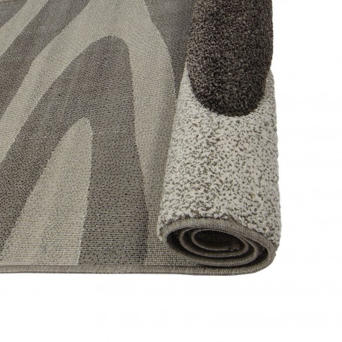 Covor living / dormitor Sintelon Vegas Home 04BWB polipropilena frize, heat-set dreptunghiular gri 200 x 290 cm