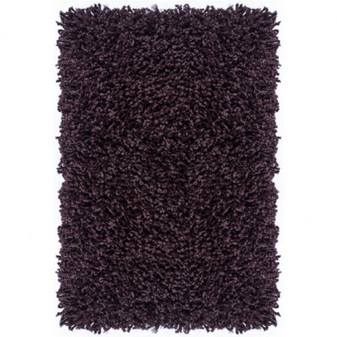 Covor living / dormitor Carpeta Viva 10391-33000 polipropilena heat-set dreptunghiular mov 90 x 250 cm