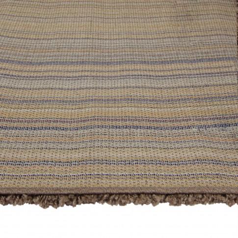 Covor living / dormitor Carpeta Viva 10391-34700 polipropilena heat-set dreptunghiular maro 70 x 140 cm