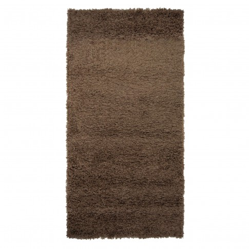 Covor living / dormitor Carpeta Viva 10391-34700 polipropilena heat-set dreptunghiular maro 120 x 180 cm
