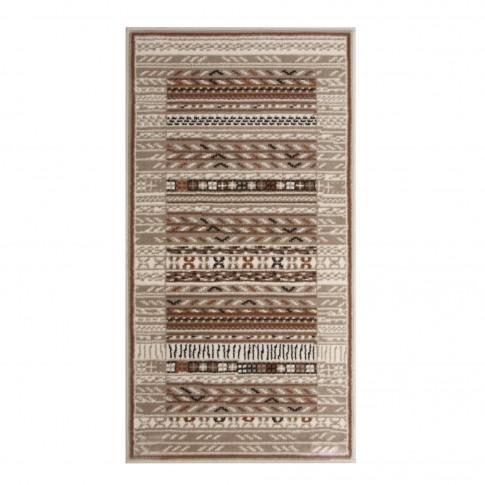 Covor living / dormitor Carpeta Delta 66961-43255 polipropilena heat-set dreptunghiular crem 60 x 110 cm
