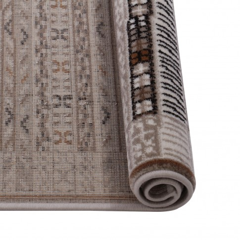 Covor living / dormitor Carpeta Delta 66961-43255 polipropilena heat-set dreptunghiular crem 120 x 170 cm