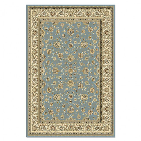 Covor living / dormitor Carpeta Atlas 81621-41266 polipropilena heat-set dreptunghiular albastru 200 x 300 cm