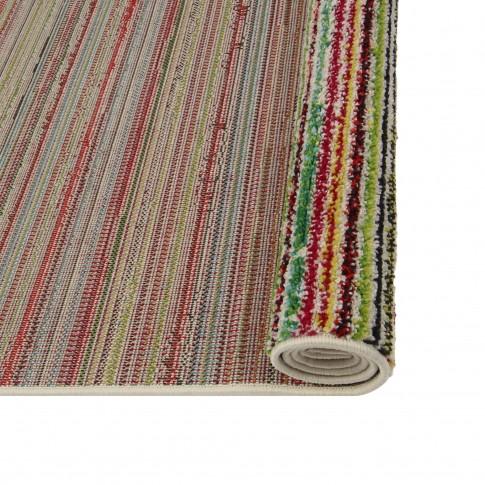 Covor living / dormitor McThree Swing 6251 3P01 polipropilena frize, heat-set dreptunghiular multicolor 120 x 170 cm