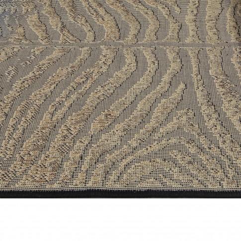 Covor living / dormitor Oriental Weavers Carrera K 139/CP5 polipropilena heat-set dreptunghiular maro 60 x 110 cm