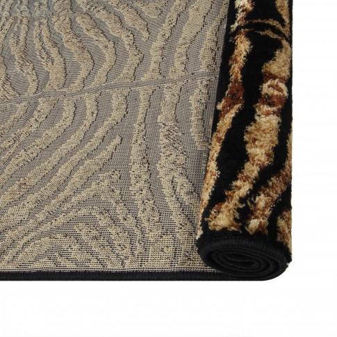 Covor living / dormitor Oriental Weavers Carrera K 139/CP5 polipropilena heat-set dreptunghiular maro 120 x 170 cm