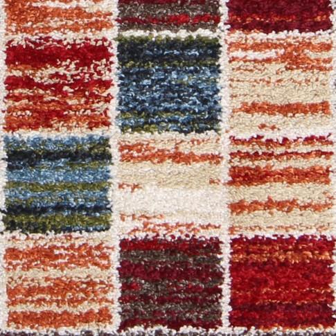 Covor living / dormitor Oriental Weavers Mirabelle R 74/DW6 polipropilena frize dreptunghiular rosu 120 x 170 cm