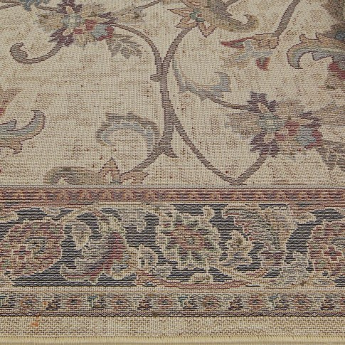 Covor living / dormitor Oriental Weavers Sonoma W 31/AL6 polipropilena heat-set dreptunghiular maro 60 x 110 cm