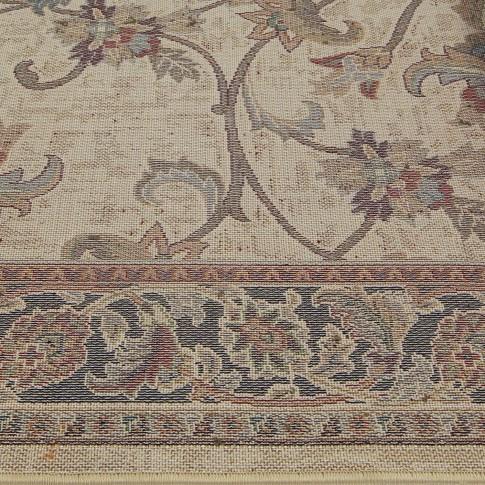 Covor living / dormitor Oriental Weavers Sonoma W 31/AL6 polipropilena heat-set dreptunghiular maro 120 x 170 cm