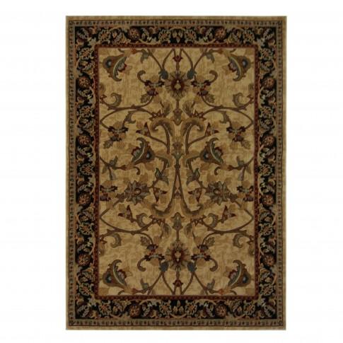 Covor living / dormitor Oriental Weavers Sonoma W 31/AL6 polipropilena heat-set dreptunghiular maro 160 x 235 cm