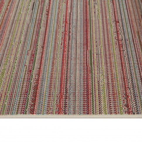 Covor living / dormitor McThree Swing 6251 3P01 polipropilena frize, heat-set dreptunghiular multicolor 200 x 290 cm