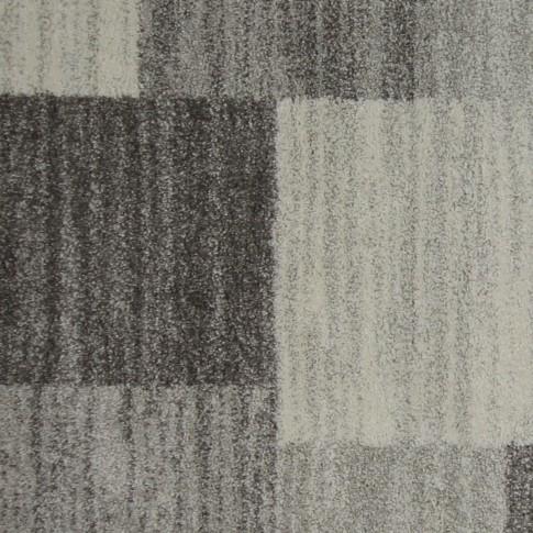 Covor living / dormitor McThree Softn 6898 G204 polipropilena frize, heat-set dreptunghiular gri 80 x 150 cm