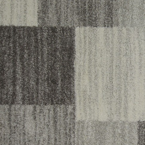Covor living / dormitor McThree Softn 6898 G204 polipropilena frize, heat-set dreptunghiular gri 120 x 170 cm
