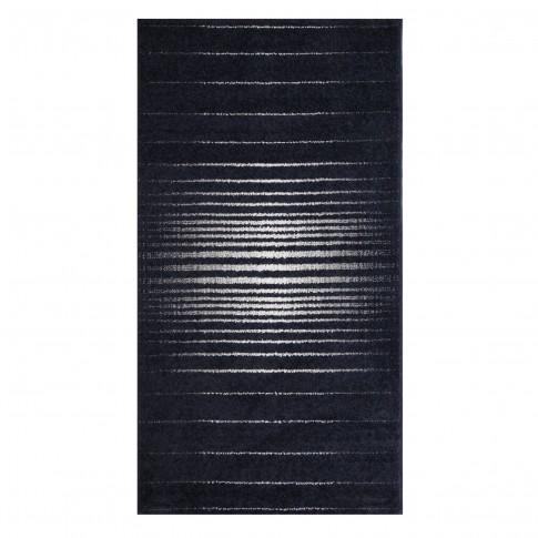 Covor living / dormitor McThree Casino 8524 K981 polipropilena frize dreptunghiular albastru 80 x 150 cm