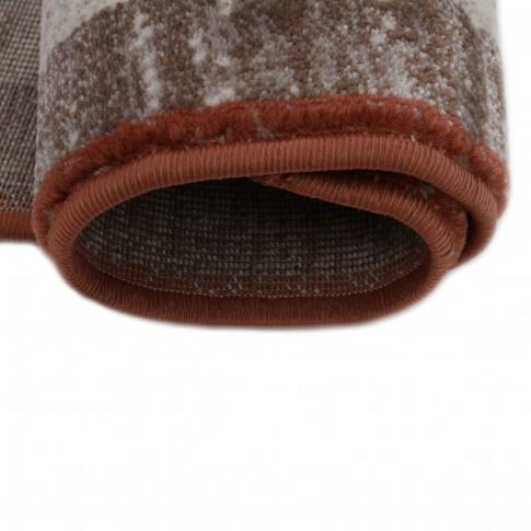 Covor living / dormitor Carpeta Delta 81731-43232 polipropilena heat-set dreptunghiular bej 80 x 150 cm