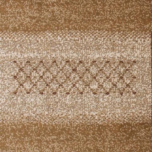 Covor living / dormitor Carpeta Atlas 70821-41335 polipropilena heat-set dreptunghiular bordo 60 x 110 cm