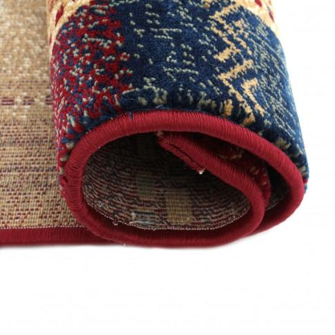 Covor living / dormitor Carpeta Atlas 70821-41335 polipropilena heat-set dreptunghiular bordo 160 x 230 cm