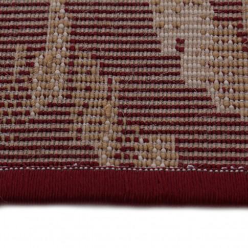 Covor living / dormitor Carpeta Atlas 85271-41355 polipropilena heat-set dreptunghiular bordo 60 x 110 cm