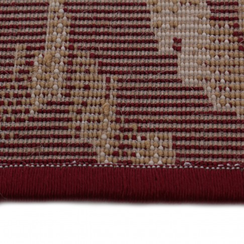 Covor living / dormitor Carpeta Atlas 85271-41355 polipropilena heat-set dreptunghiular bordo 120 x 170 cm