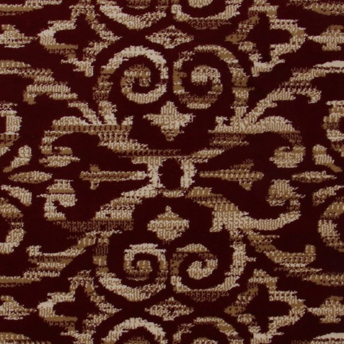 Covor living / dormitor Carpeta Atlas 85271-41355 polipropilena heat-set dreptunghiular bordo 200 x 300 cm