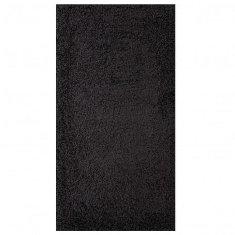 Covor living / dormitor Carpeta Viva 10391-32300 polipropilena frize dreptunghiular gri antracit 120 x 180 cm
