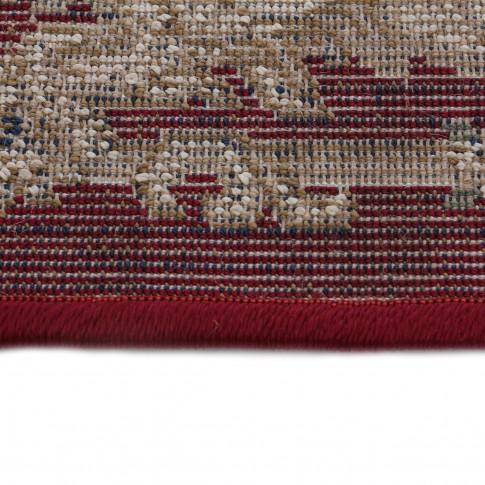 Covor living / dormitor Carpeta Atlas 30241-41355 polipropilena heat-set dreptunghiular bordo 120 x 170 cm