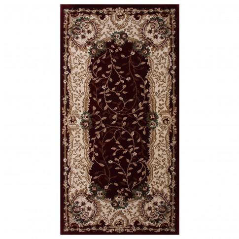 Covor living / dormitor Carpeta Atlas 30241-41355 polipropilena heat-set dreptunghiular bordo 160 x 230 cm