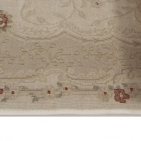 Covor living / dormitor Carpeta Atlas 30242-41333 polipropilena heat-set oval bej 80 x 150 cm