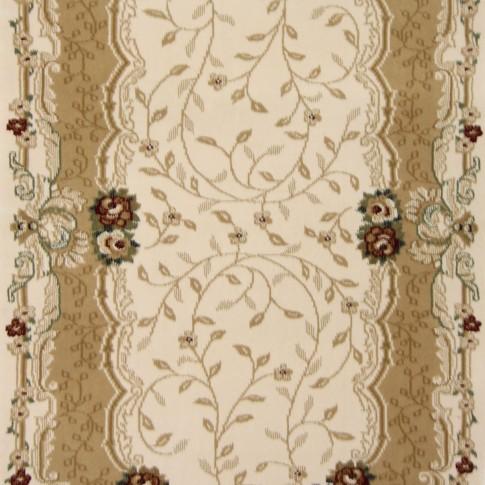 Covor living / dormitor Carpeta Atlas 30242-41333 polipropilena heat-set oval bej 160 x 230 cm