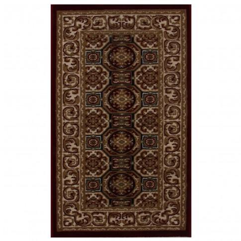 Covor living / dormitor Carpeta Atlas 1721-41355 polipropilena heat-set dreptunghiular bordo 160 x 230 cm