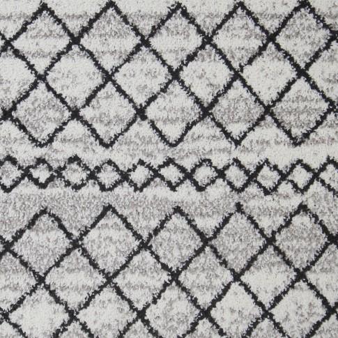 Covor living / dormitor Oriental Weavers Lotto W 86/HR5 polipropilena frize dreptunghiular crem 160 x 235 cm
