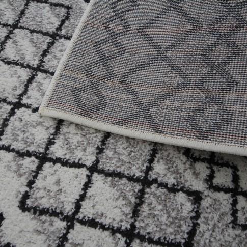 Covor living / dormitor Oriental Weavers Lotto W 86/HR5 polipropilena frize dreptunghiular crem 200 x 285 cm