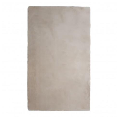 Covor living / dormitor Chip Pes 7060 poliester dreptunghiular crem 80 x 150 cm
