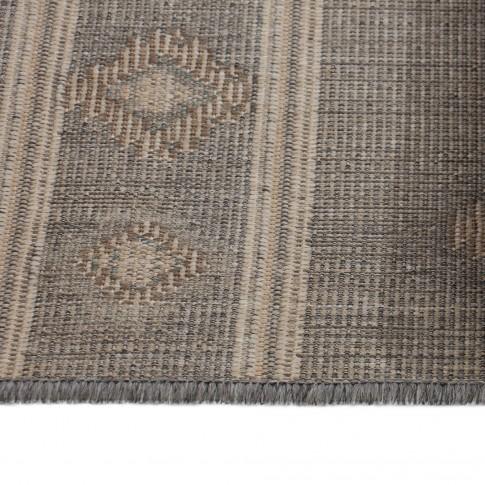 Covor living / dormitor Oriental Weavers Norway E 5960/EM1 polipropilena BCF dreptunghiular gri 67 x 120 cm