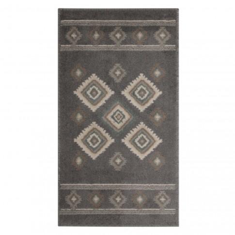 Covor living / dormitor Oriental Weavers Norway E 5960/EM1 polipropilena BCF dreptunghiular gri 133 x 190 cm